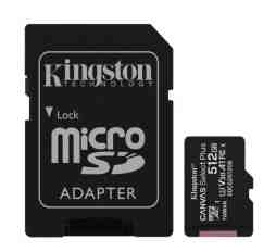 Slika izdelka: KINGSTON Canvas Select Plus microSD 16GB Class10 UHS-I adapter (SDCS2/16GB) spominska kartica